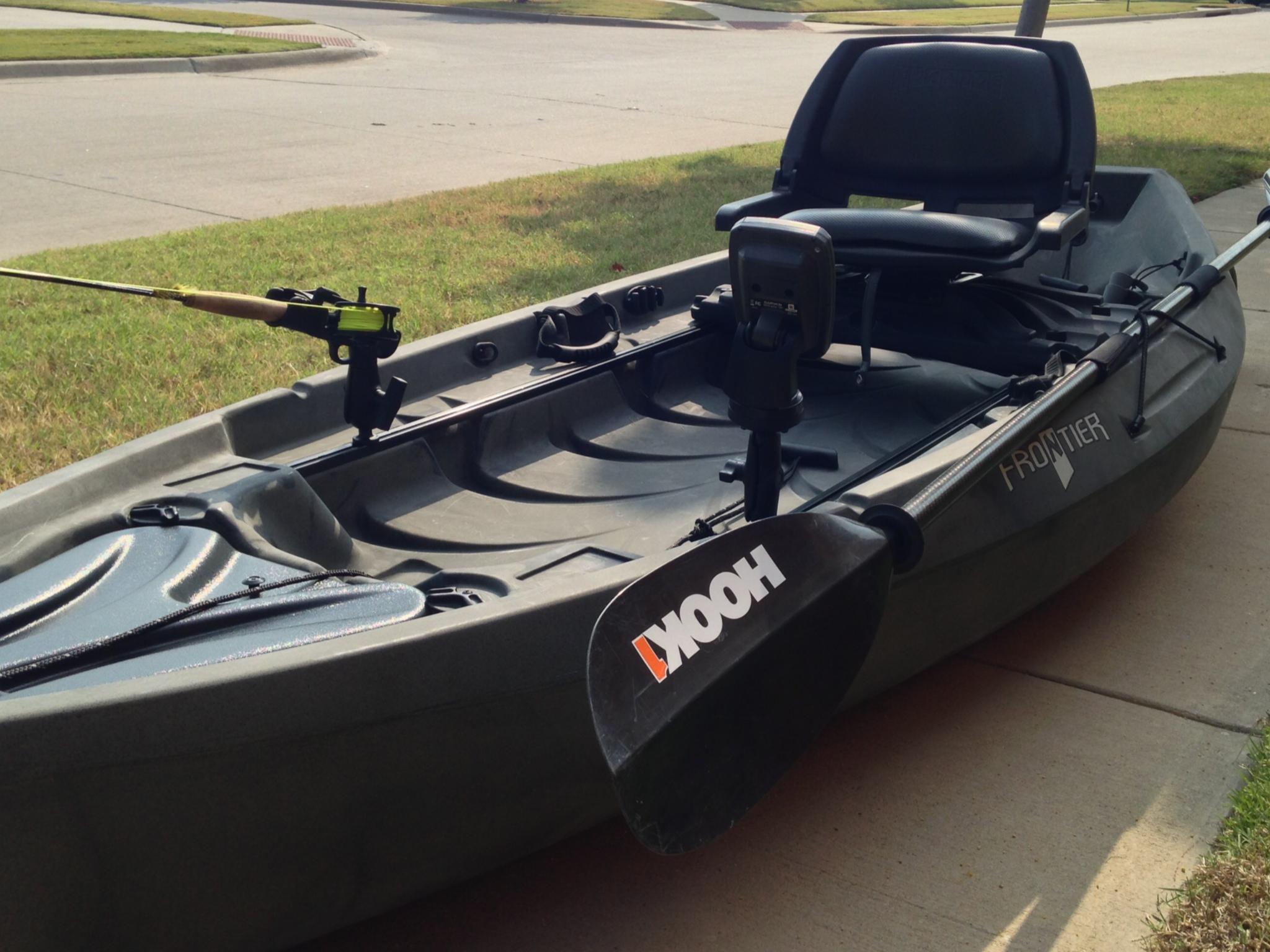 My new kayak for Kayak accessories fishing